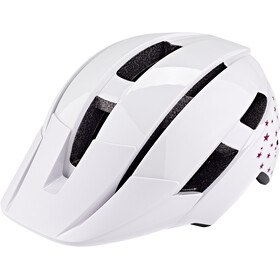 Bell Sidetrack II MIPS Casque Adolescents, white stars